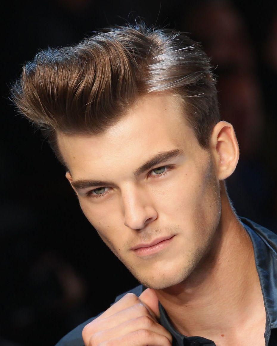Kiểu tóc nam vuốt keo rất quý phái