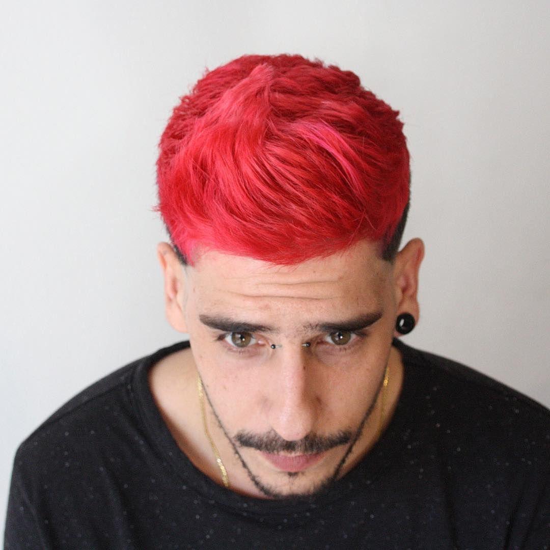 Màu tóc đỏ tươi
