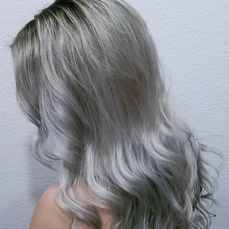 Tóc màu xám bạc giành cho nữ