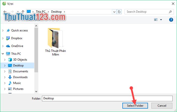 Select Folder 2