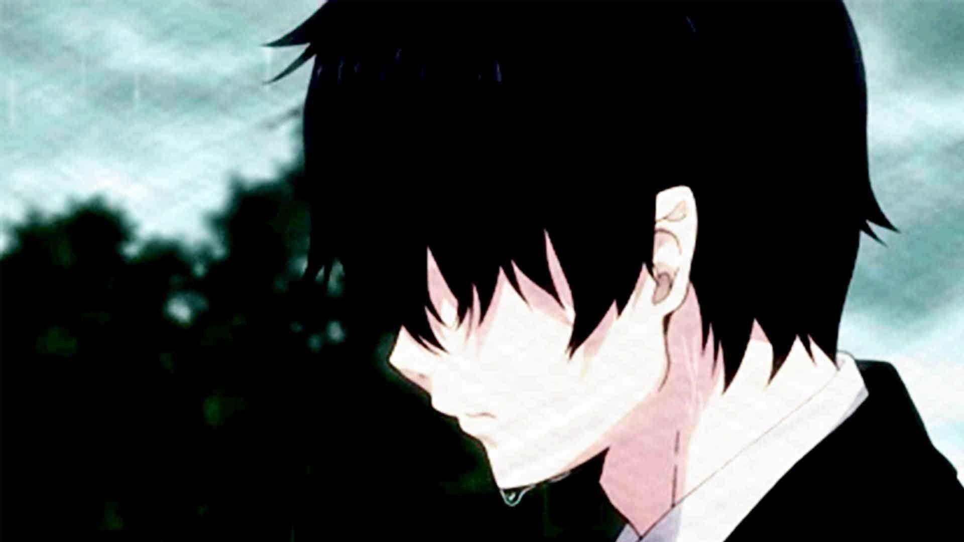 Ảnh Anime cô đơn, thất tình