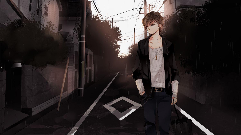 Hình ảnh Anime cô đơn thất vọng