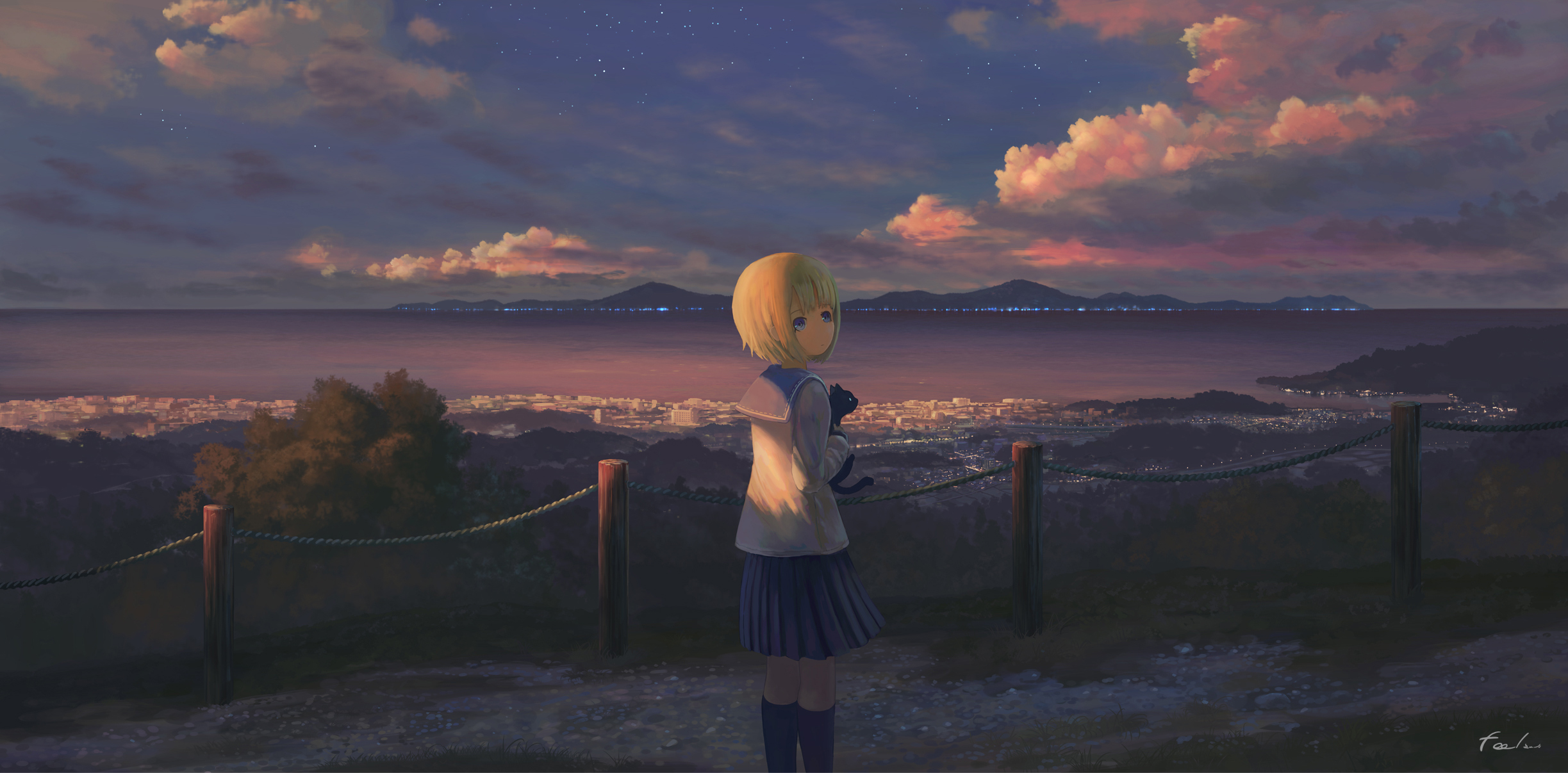 Hình ảnh Anime cô gái cô đơn
