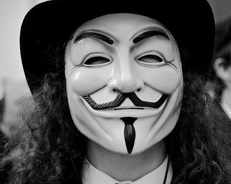 Ảnh avatar hacker đen trắng