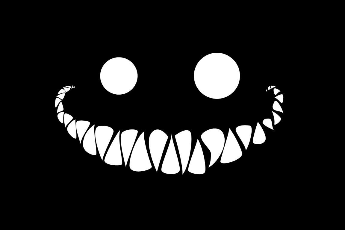 Avatar đen đáng sợ