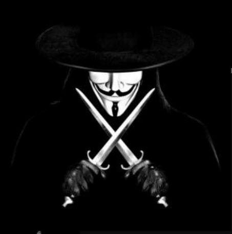 Hình avatar đen hacker