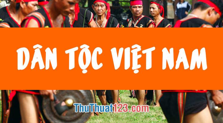 Việt Nam có bao nhiêu dân tộc hiện nay? Danh sách các dân tộc Việt Nam