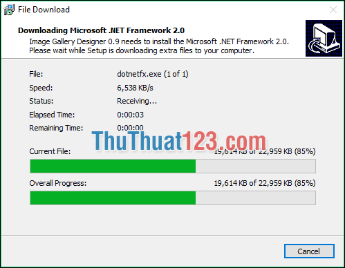 Cài đặt phần mềm 2
