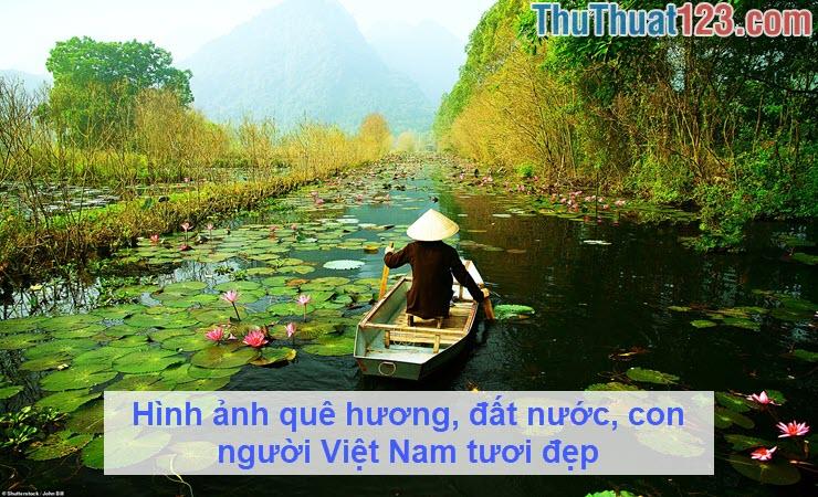 Hình ảnh quê hương, đất nước, con người Việt Nam tươi đẹp