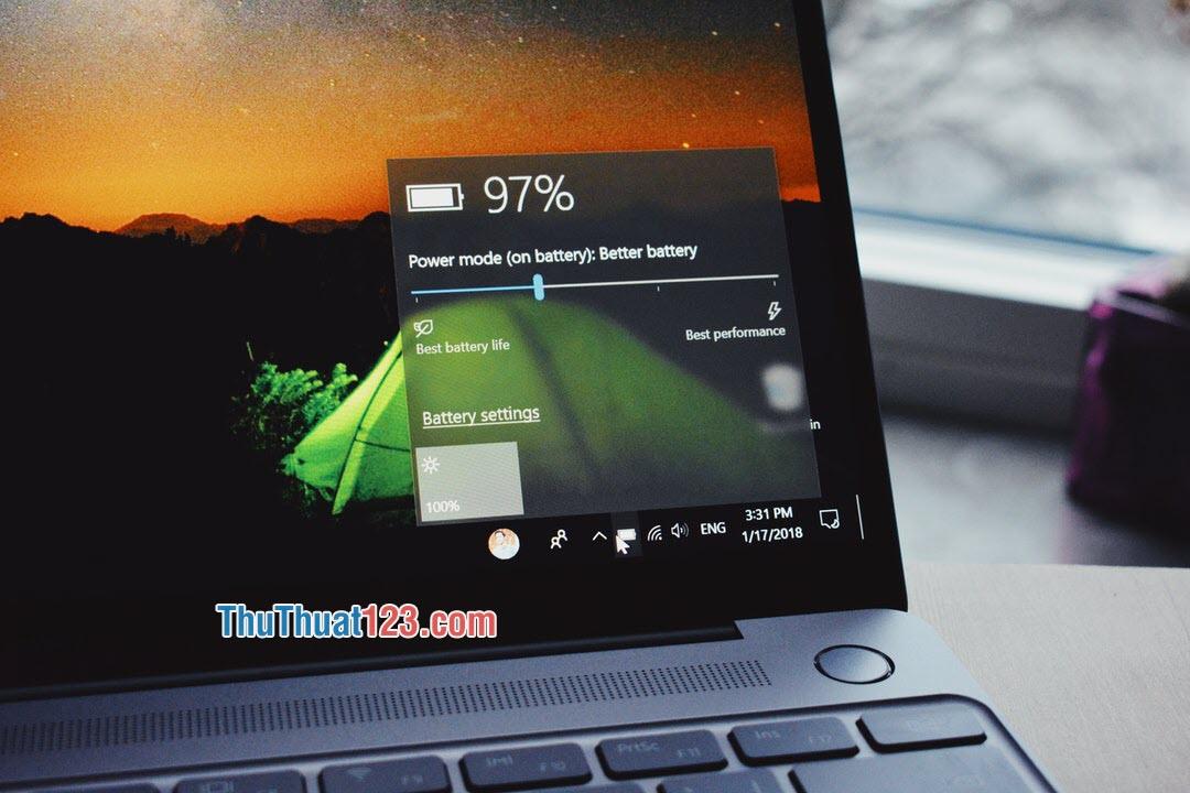Đối với người dùng Laptop