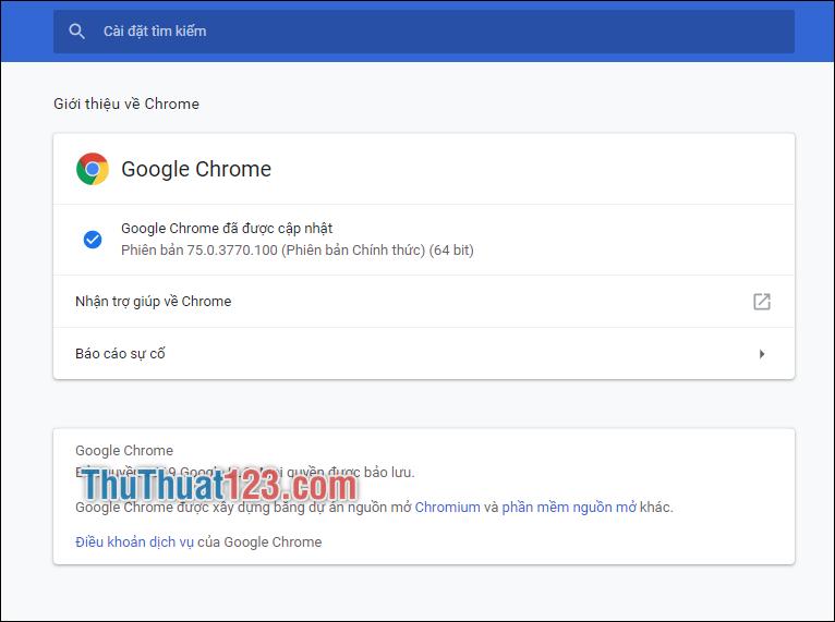 Giới thiệu về Chrome