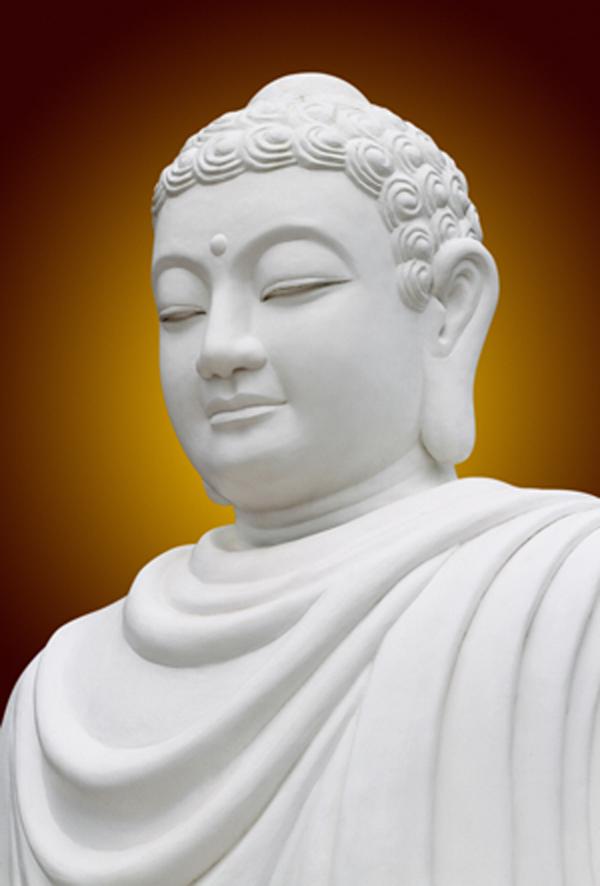 Ảnh Đức Phật tượng trắng