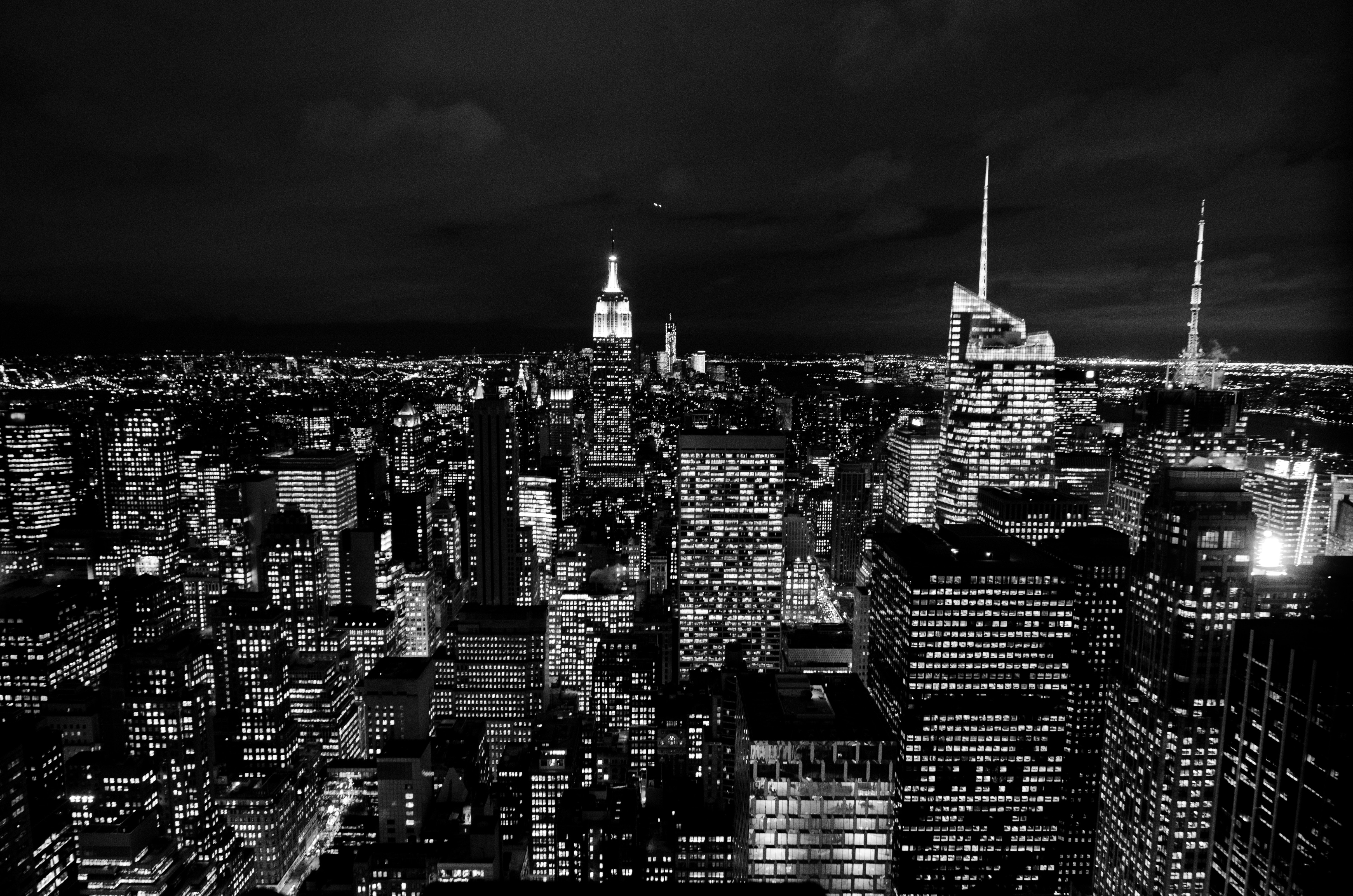 Bộ hình nền đen thành phố