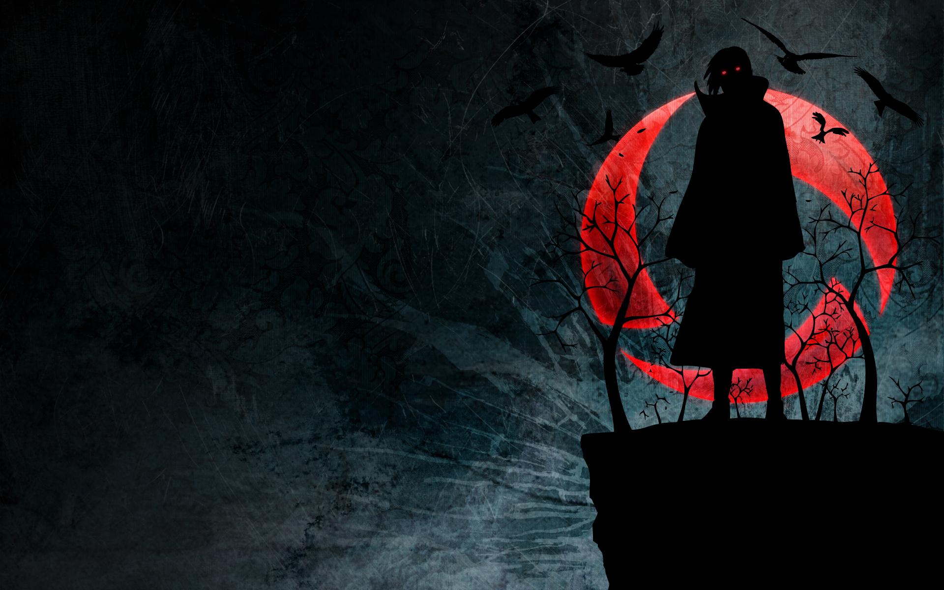 Bộ hình nền Naruto bóng tối
