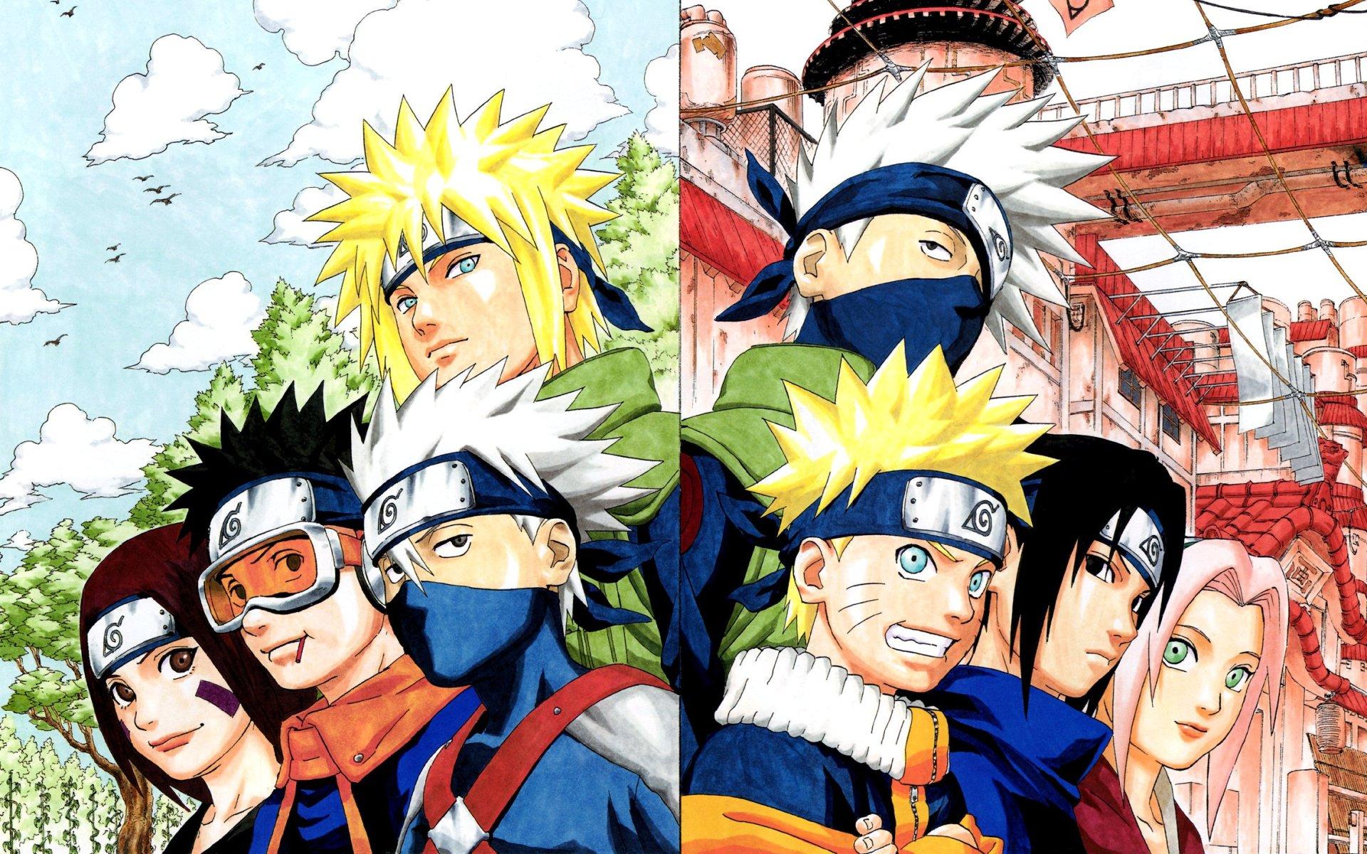 Bộ hình nền nhóm Naruto