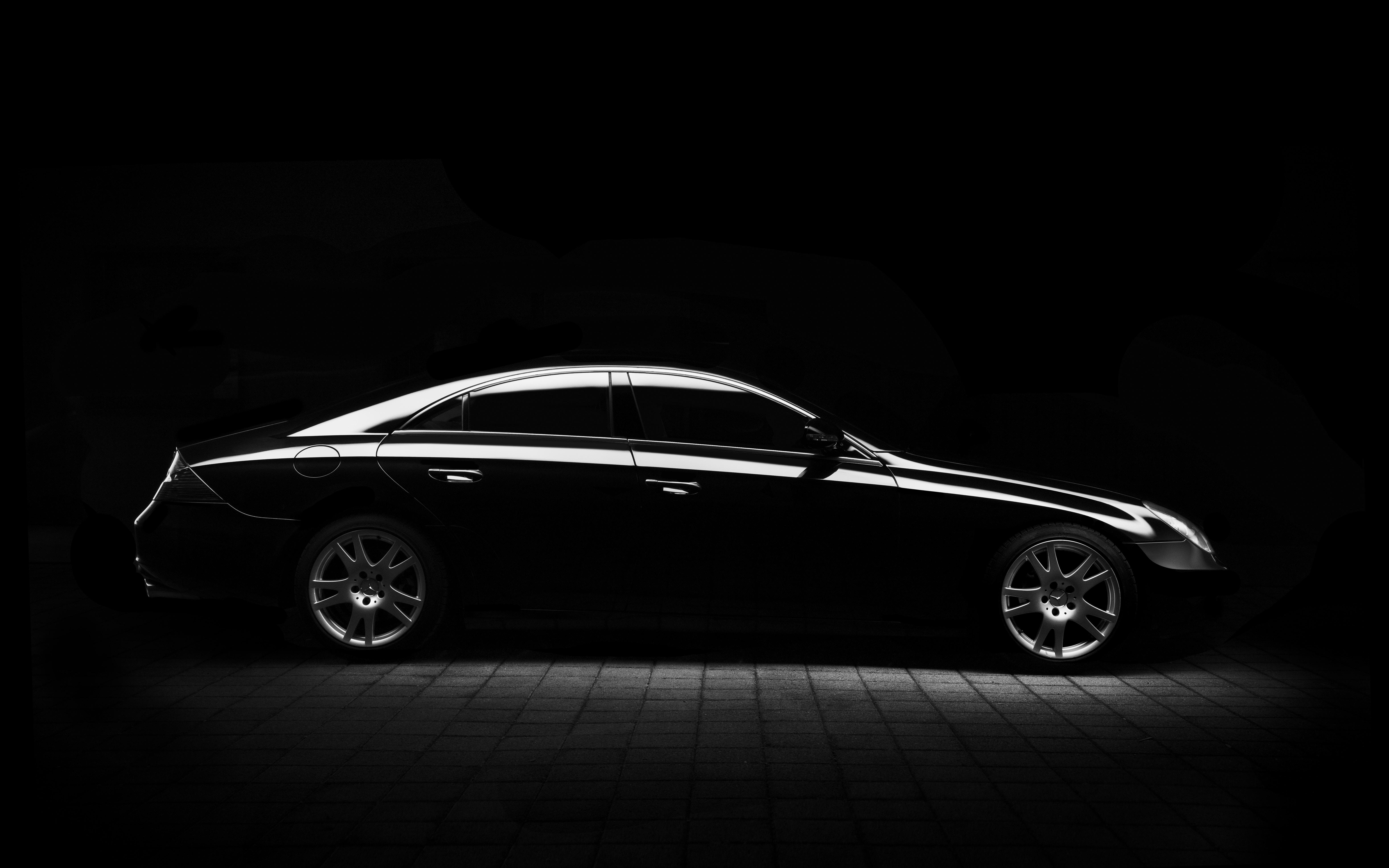 Bộ hình nền xe hơi đen