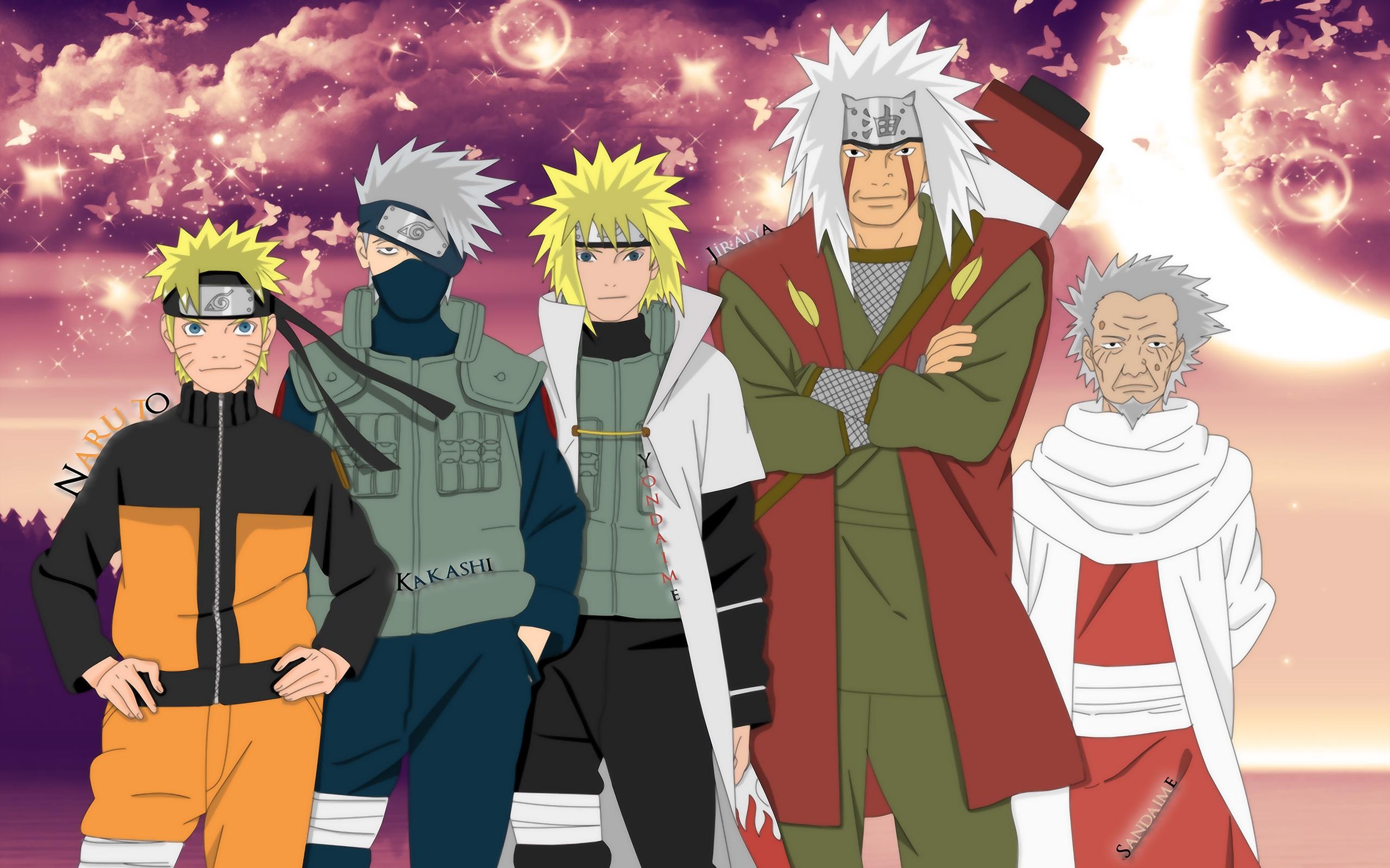Bộ Naruto tình cảm anh em