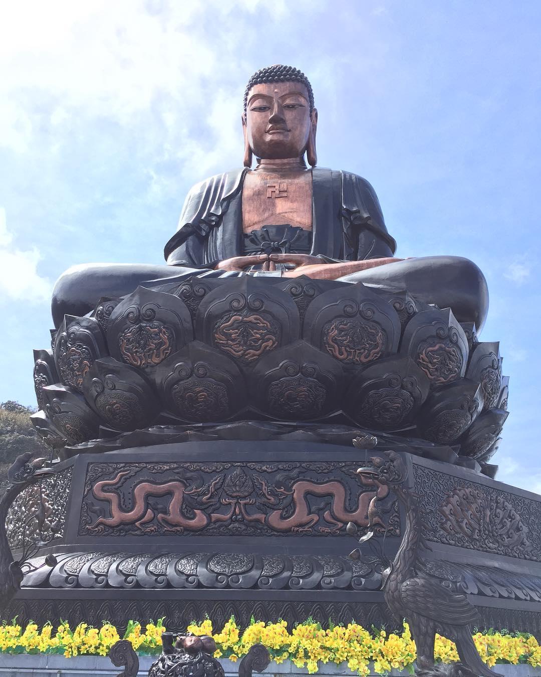 Hình ảnh Đức Phật thật đẹp ở Sapa