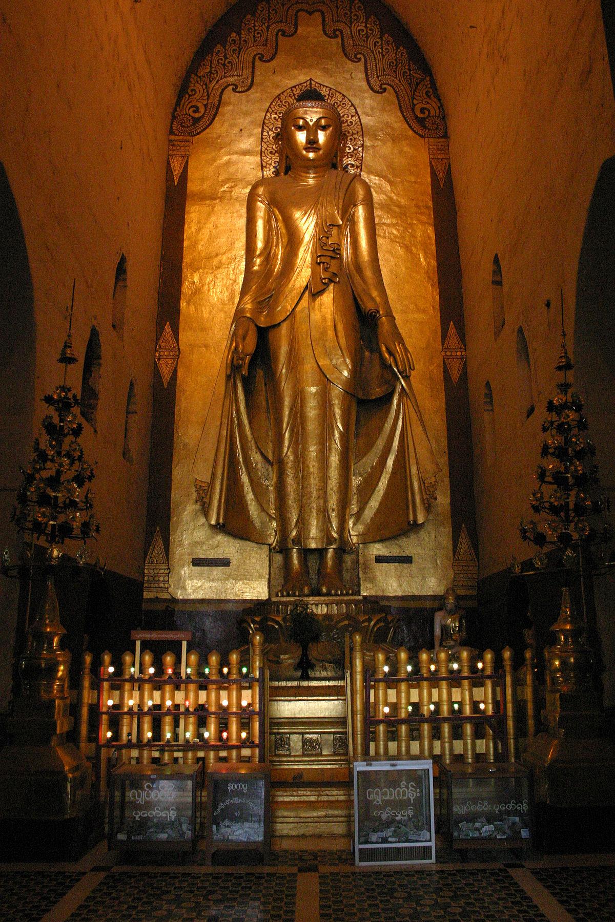 Hình ảnh tượng Phật Câu Lưu Tôn