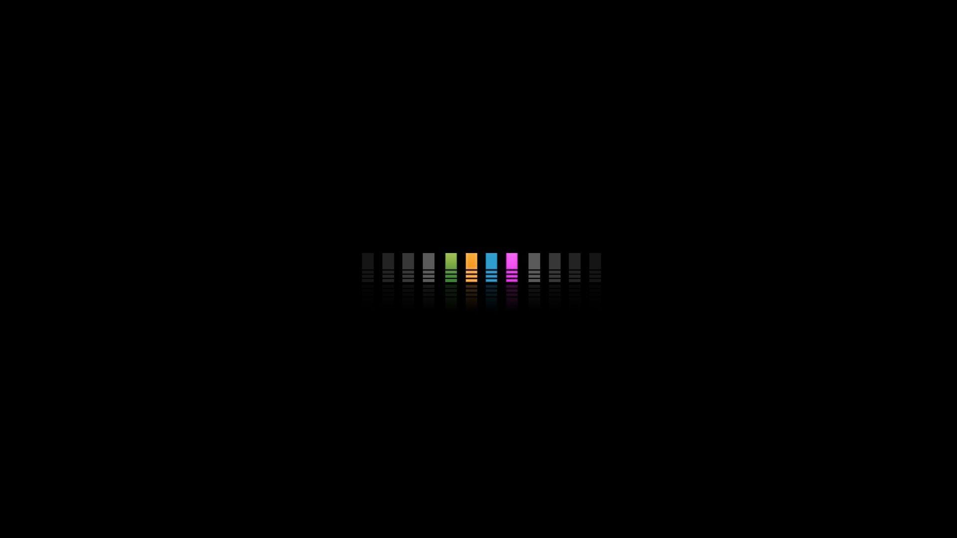 Hình nền máy tính màu đen