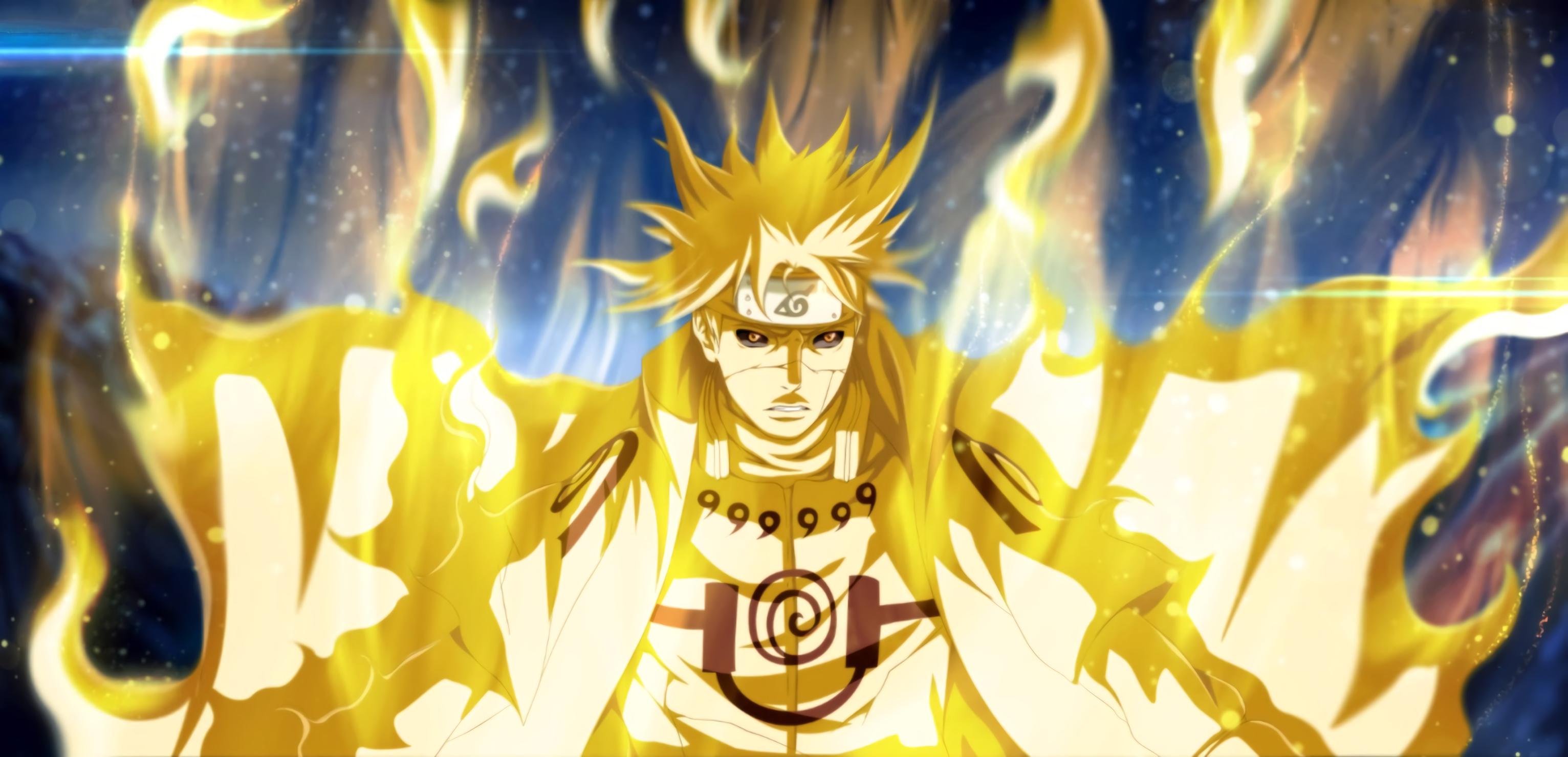 Hình nền Naruto bốc lửa