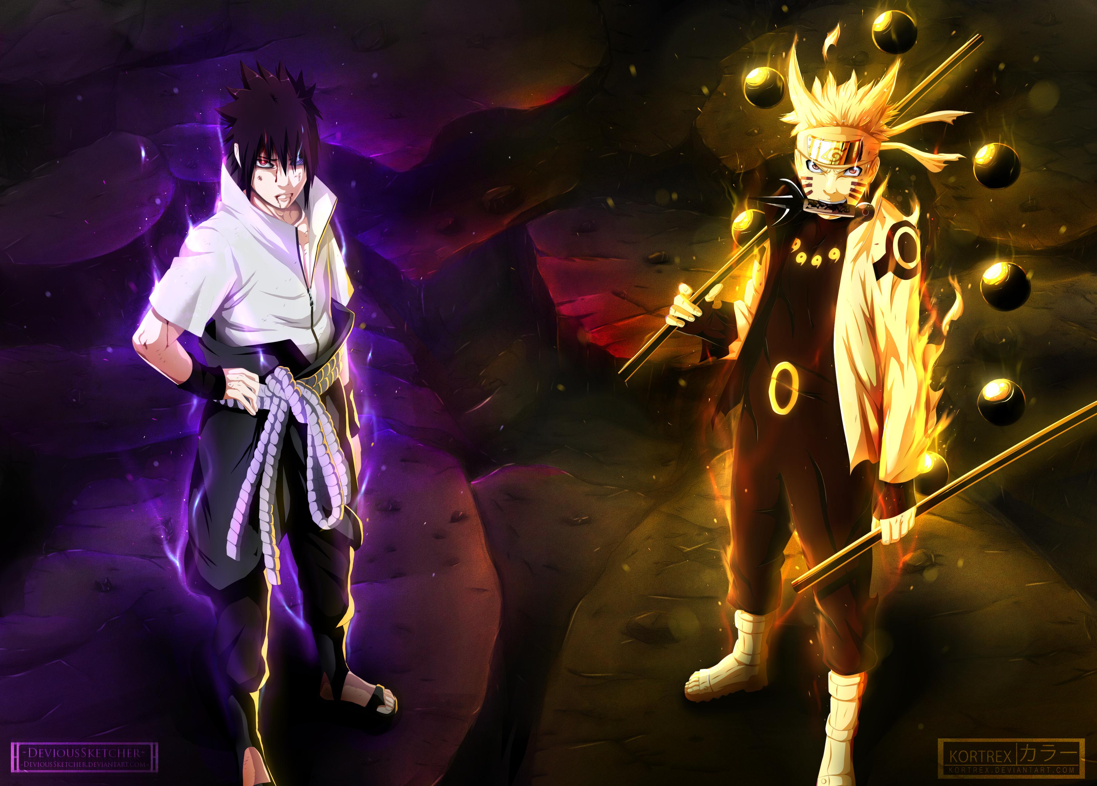 Hình nền Naruto chiến đấu