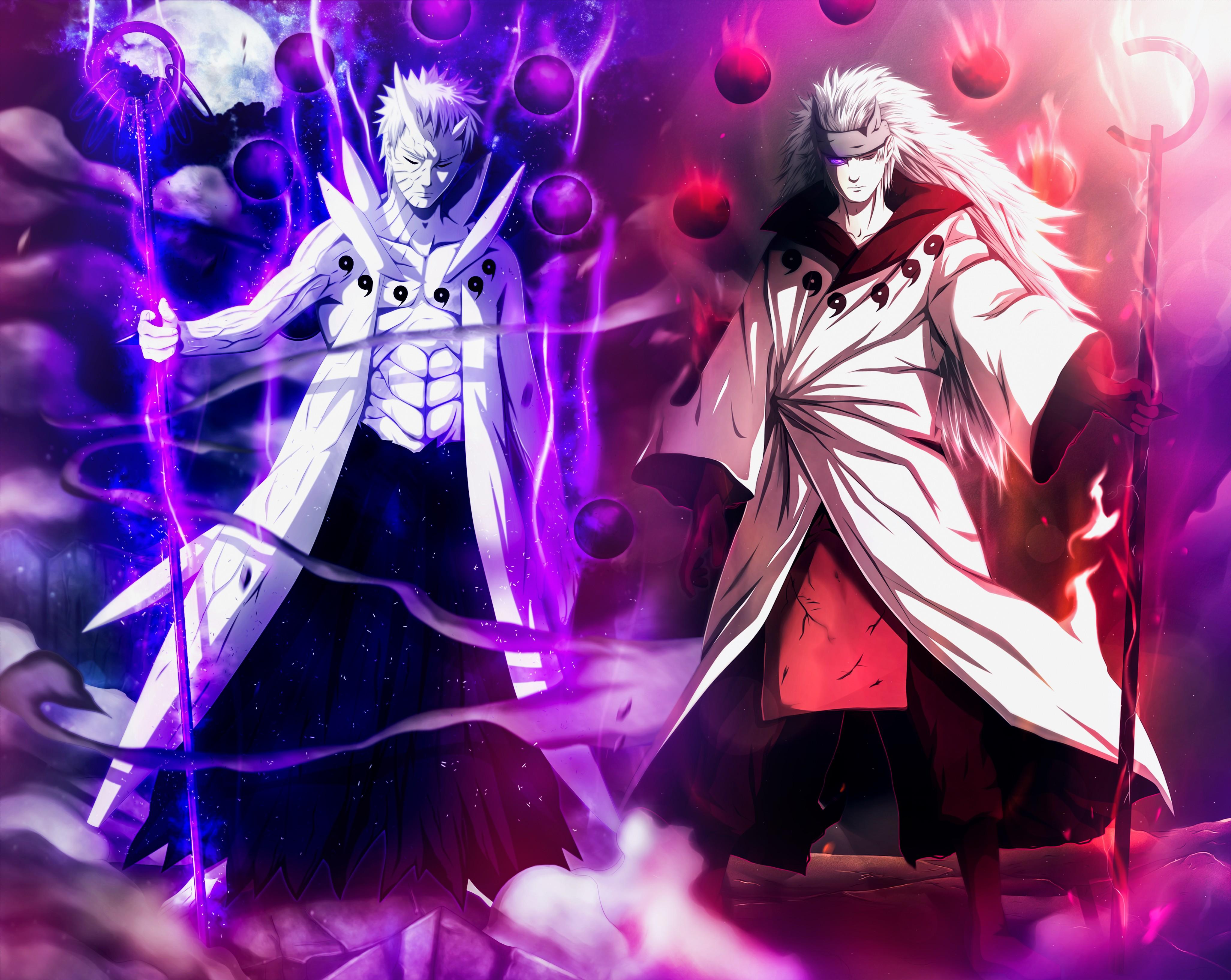 Hình nền Naruto đối đầu