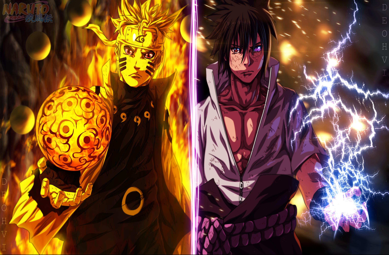 Hình nền Naruto ở hai dạng