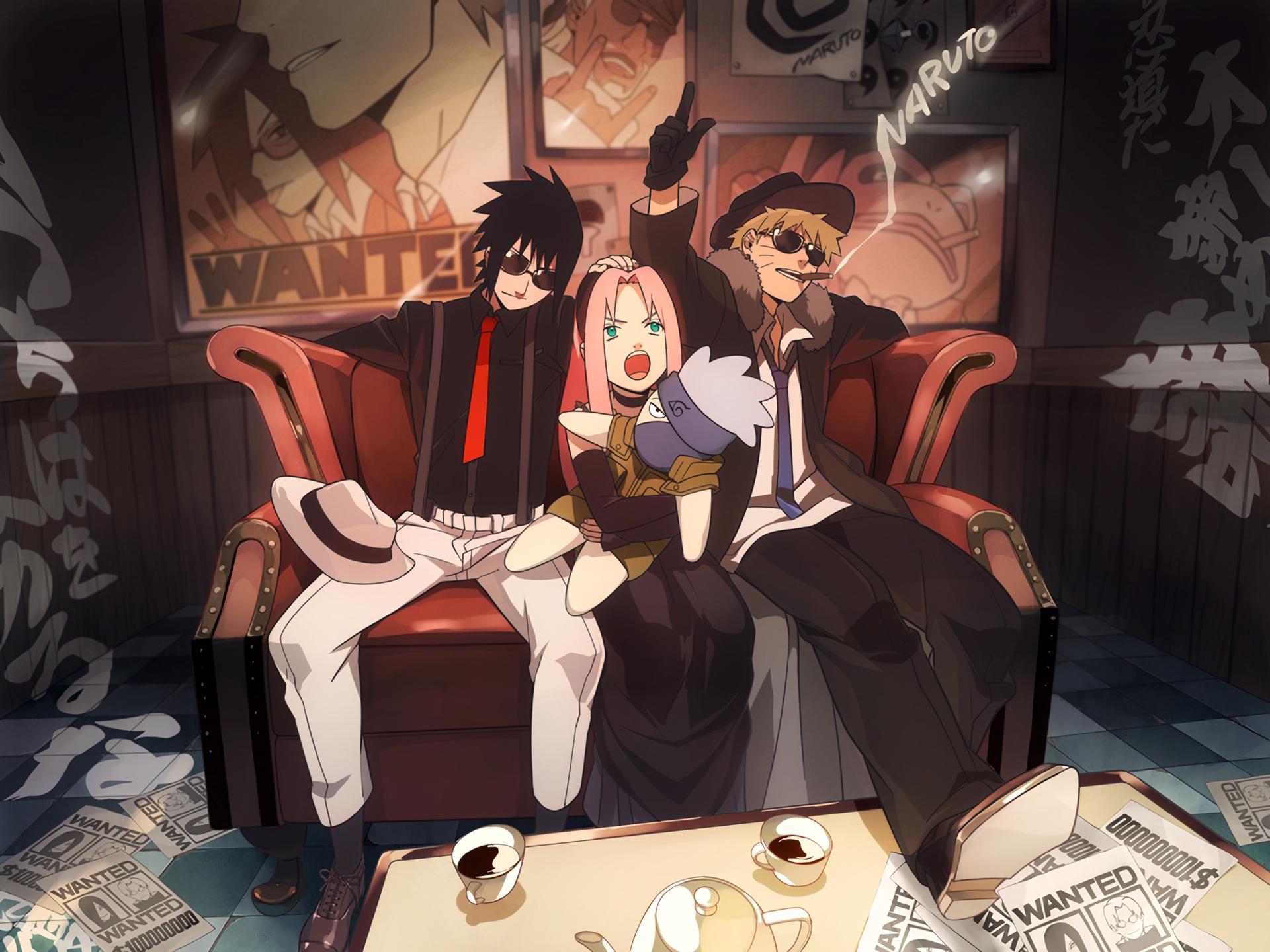 Hình nền Naruto tinh nghịch