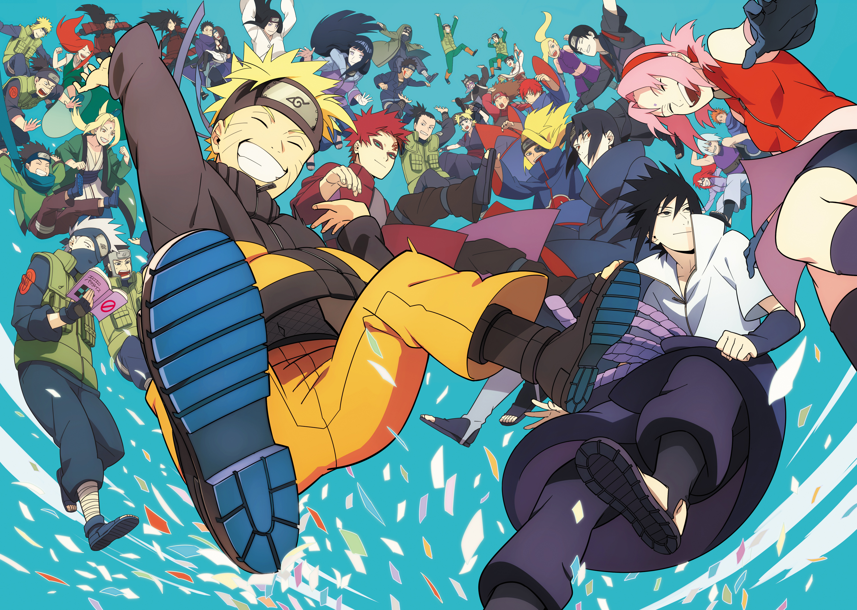 Hình nền Naruto và những người bạn