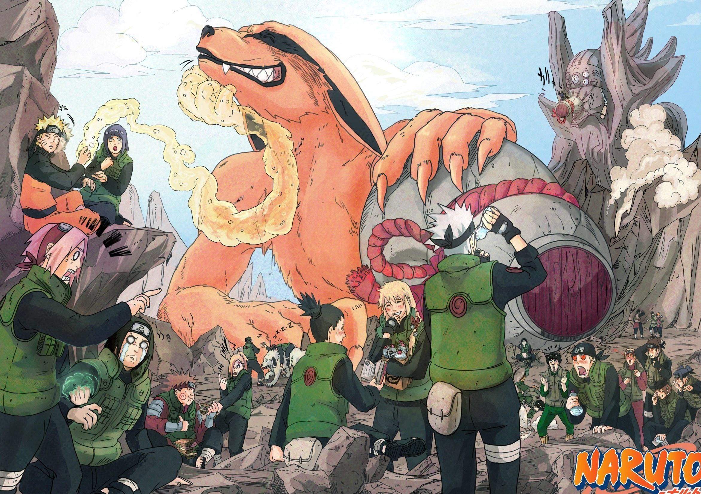 Hình nền Naruto và thế giới bạn bè