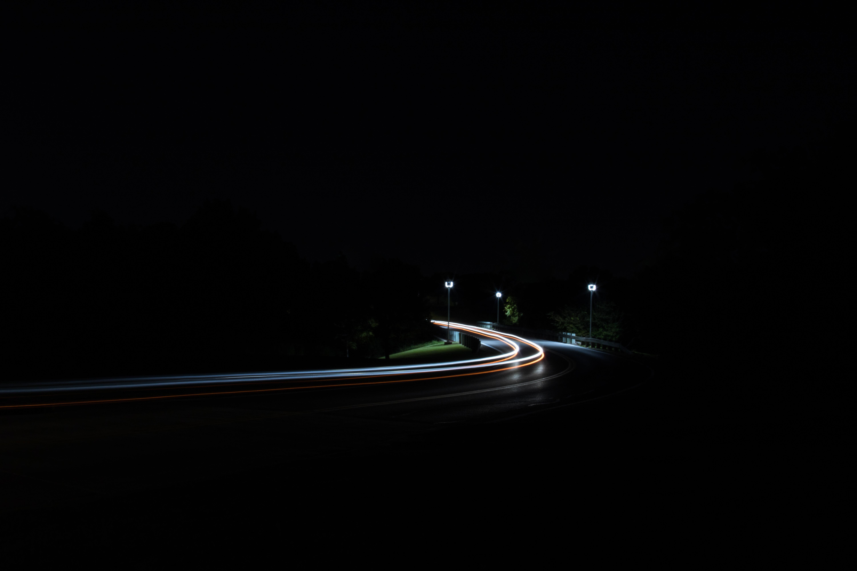 Hình nền phơi sáng con đường