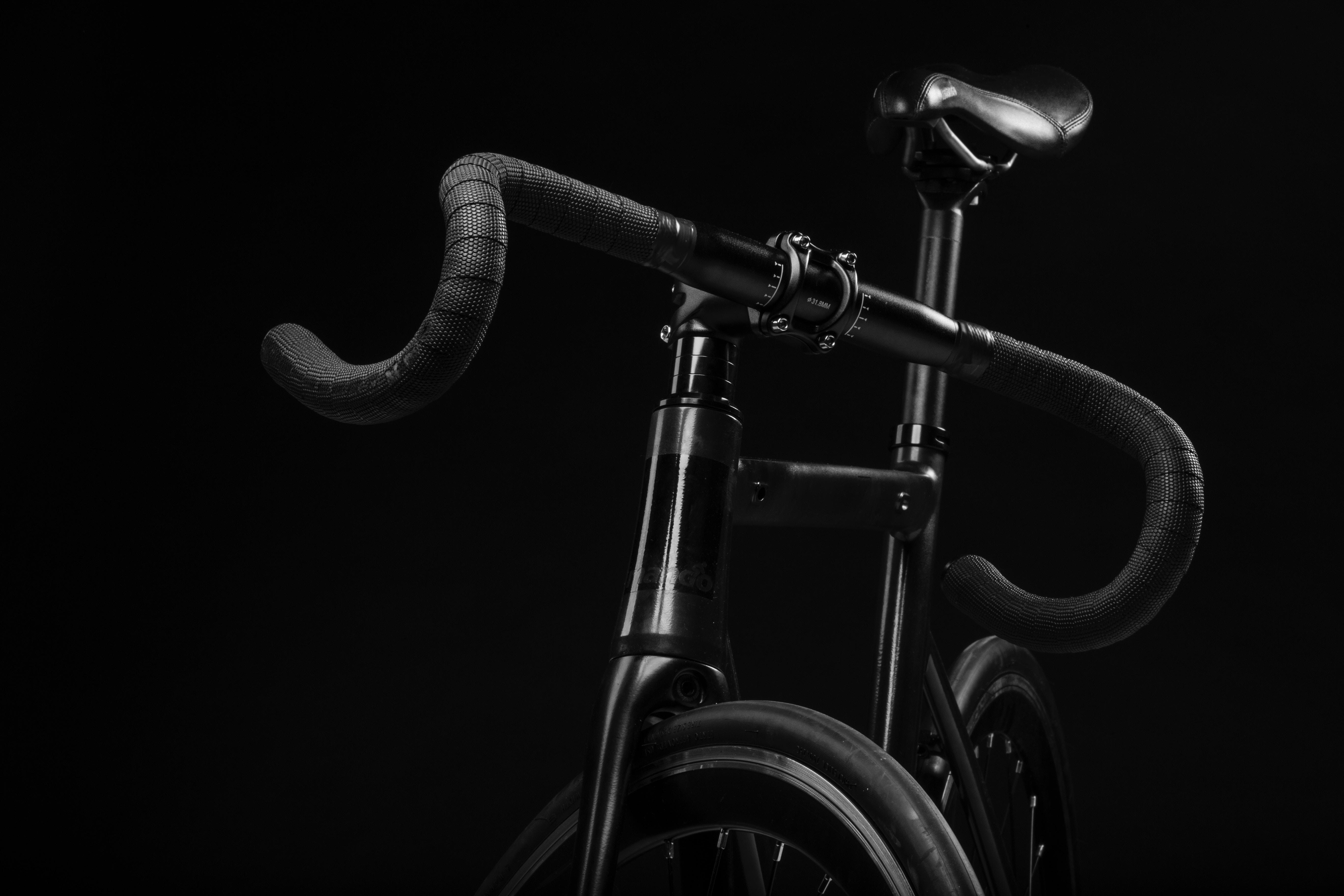 Hình nền xe đạp đen sang trọng