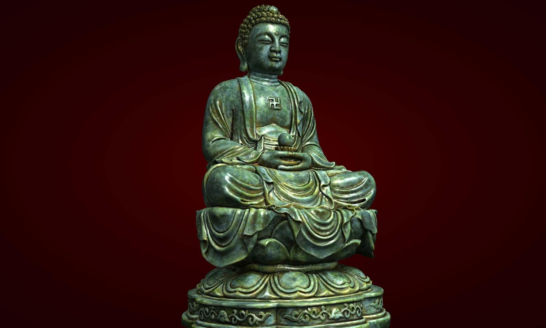 Tượng Đức Phật ngọc bích
