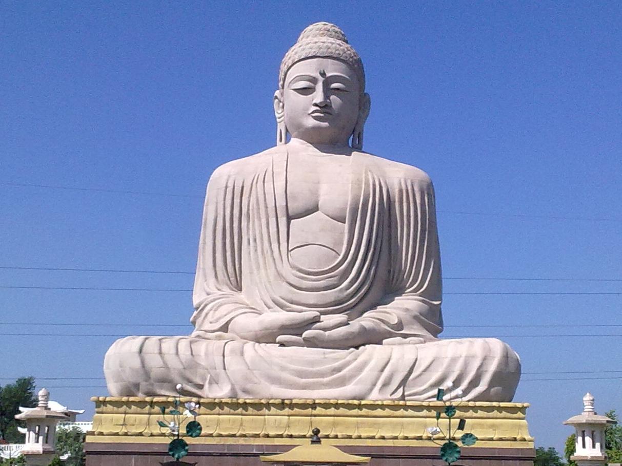 Tượng Đức Phật ở đất hành hương