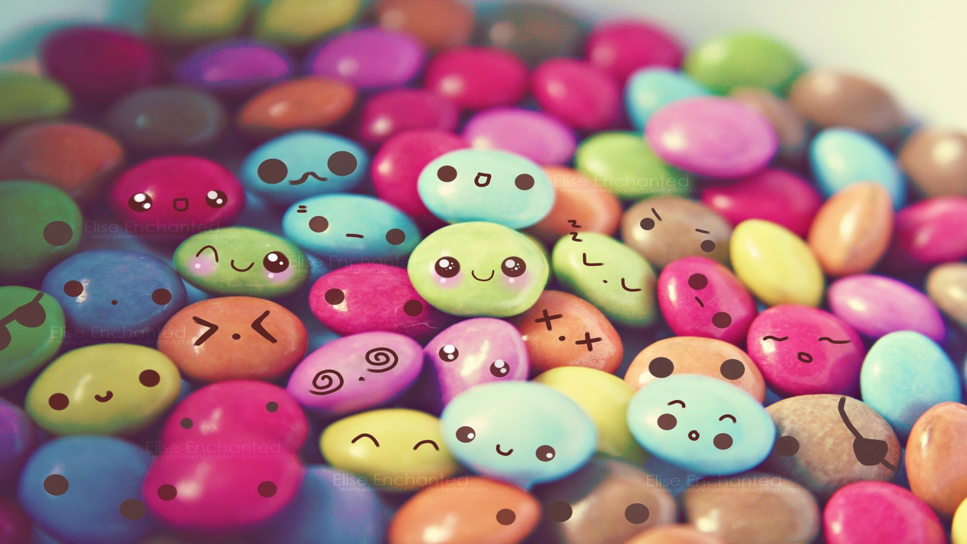 Hình ảnh những viên kẹo nhiều màu sắc ngọt ngào
