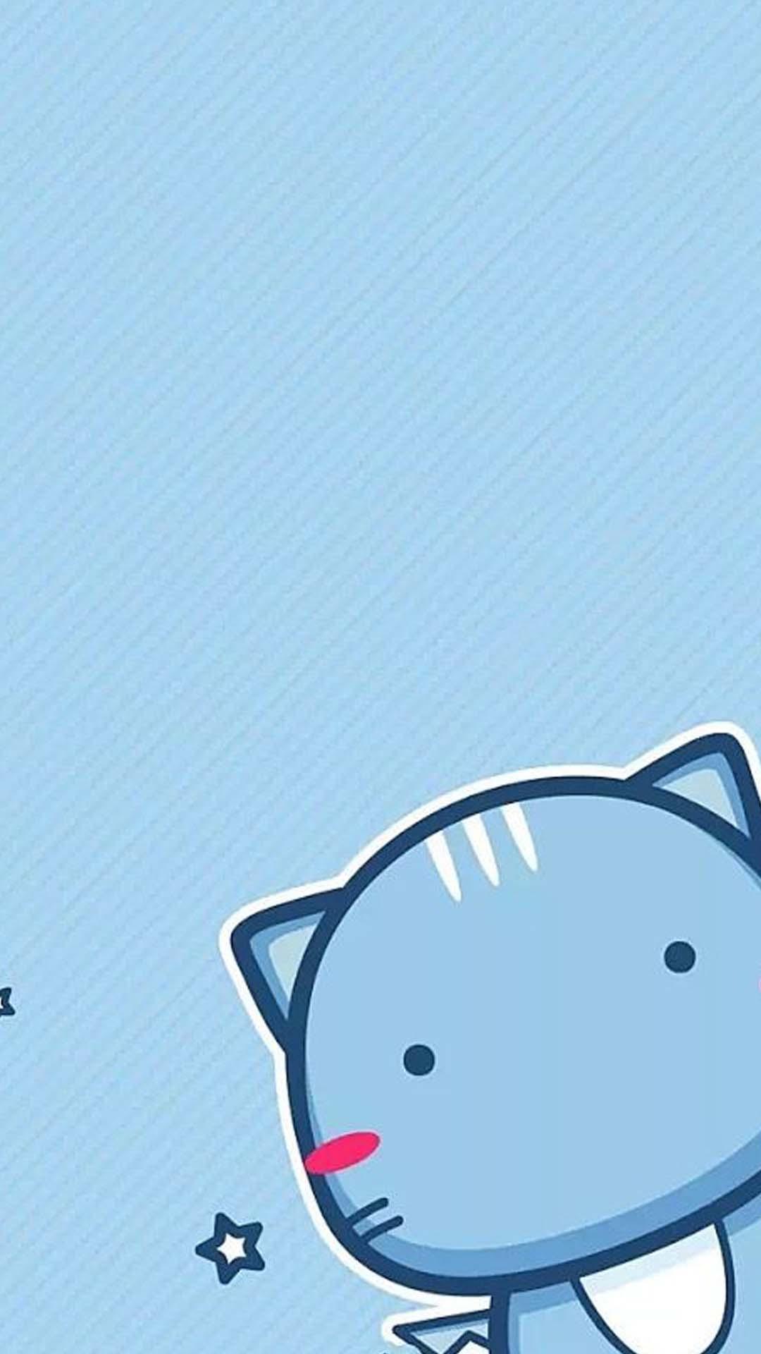 Hình nền dễ thương chú mèo cute mắt hột bi