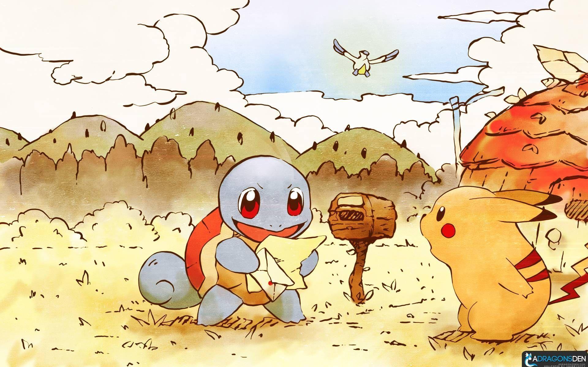 Hình nền Pokemon dễ thương đáng yêu