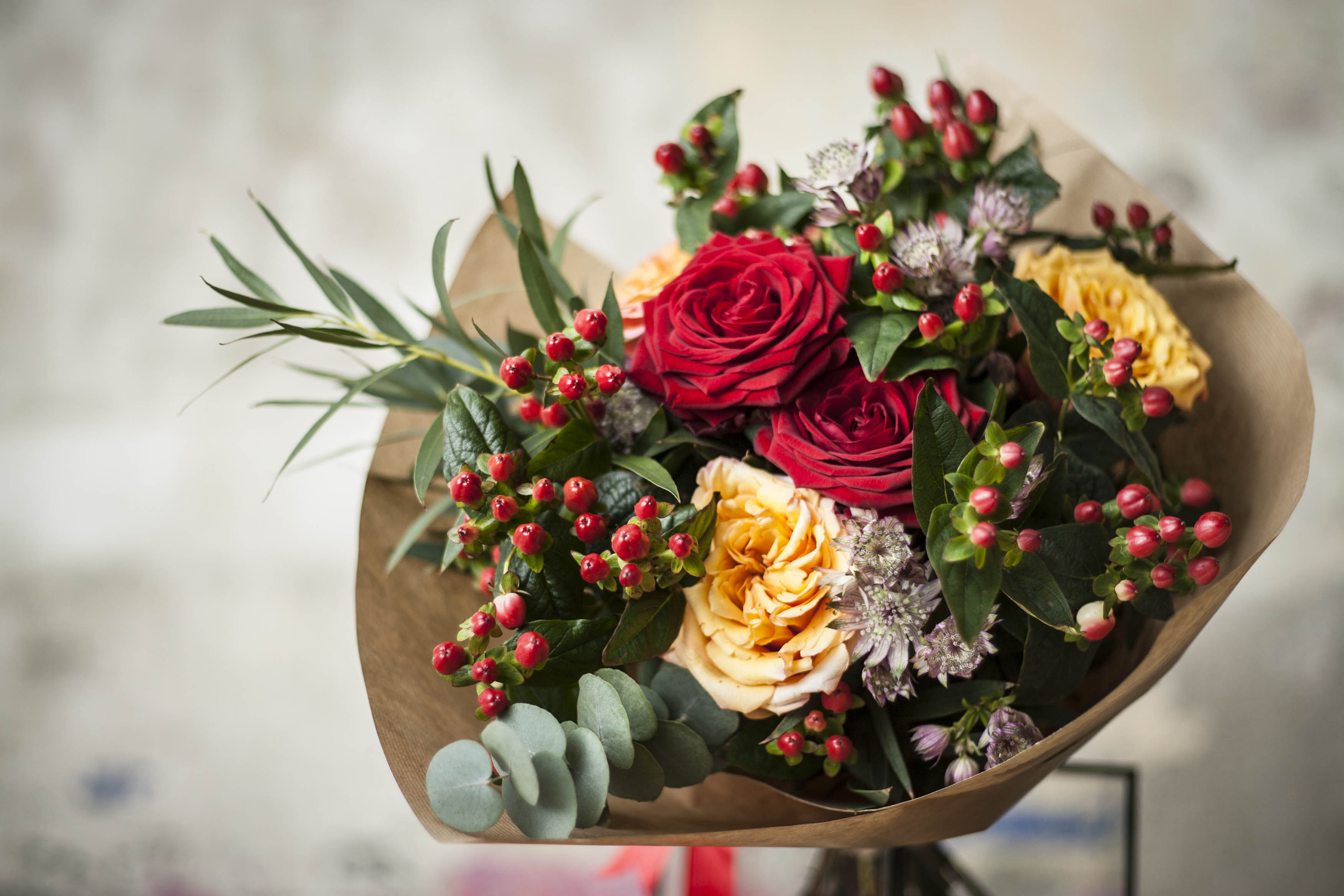Hình ảnh bó hoa hồng đẹp nhất thế giới