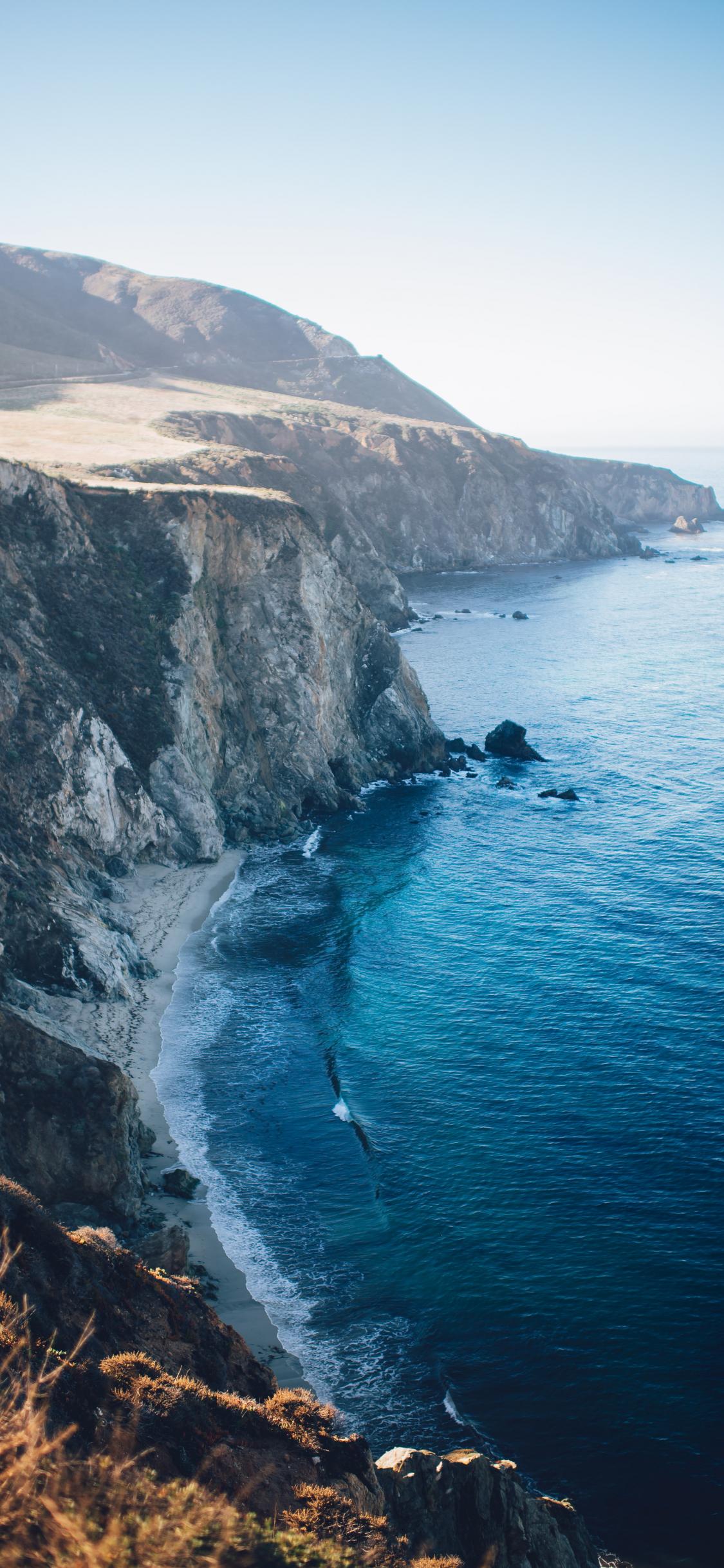 hình nền bờ biển iphone x