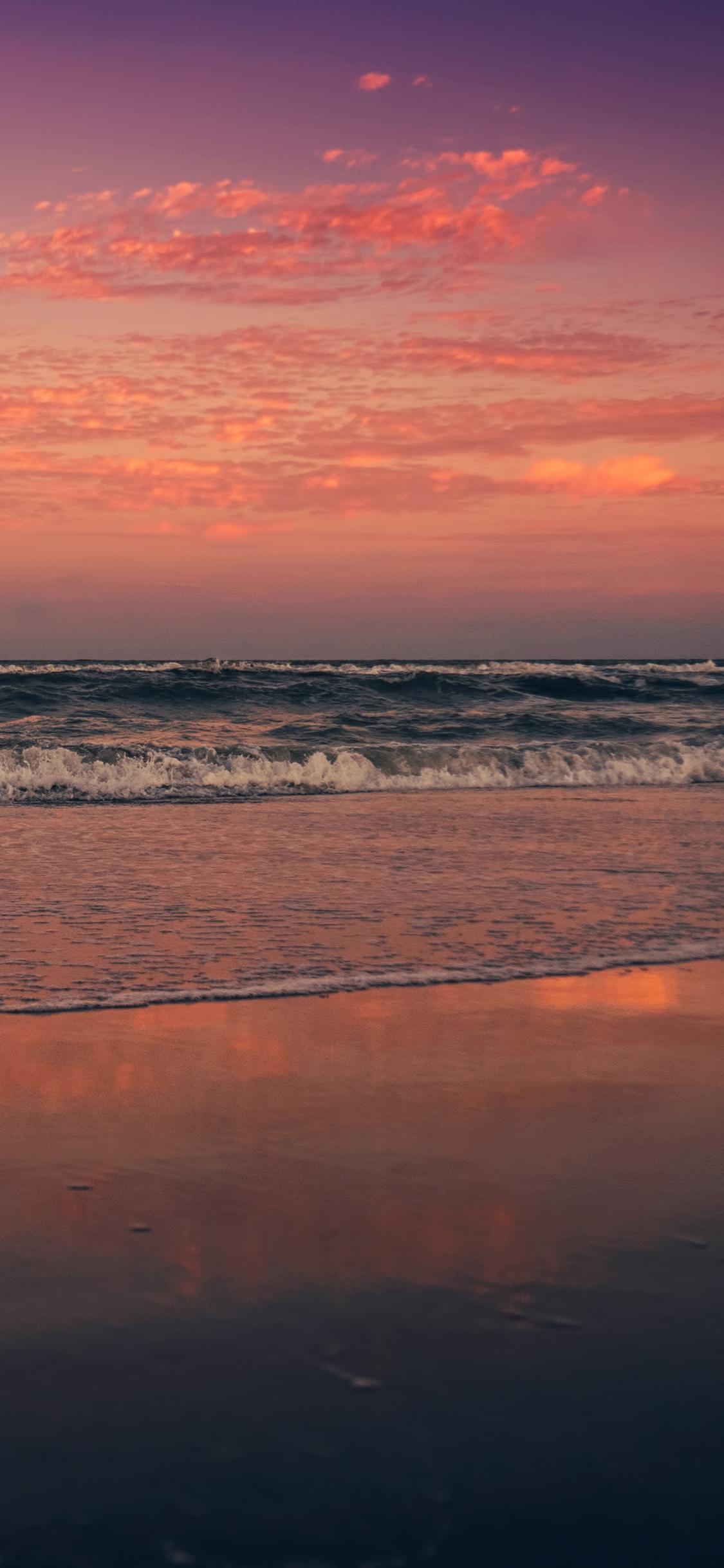 hình nền iphone x bãi biển
