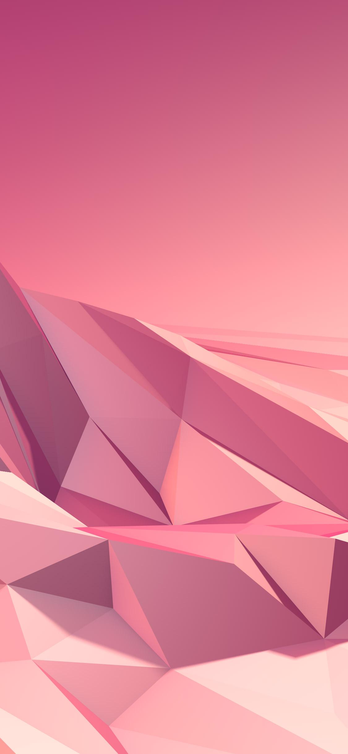 hình nền iphone x hồng