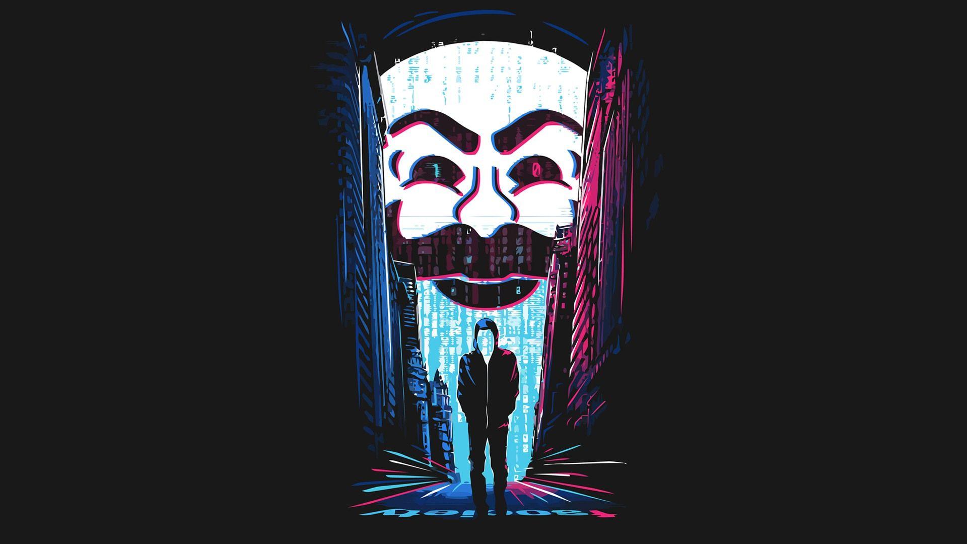 Ảnh Hacker 7 màu