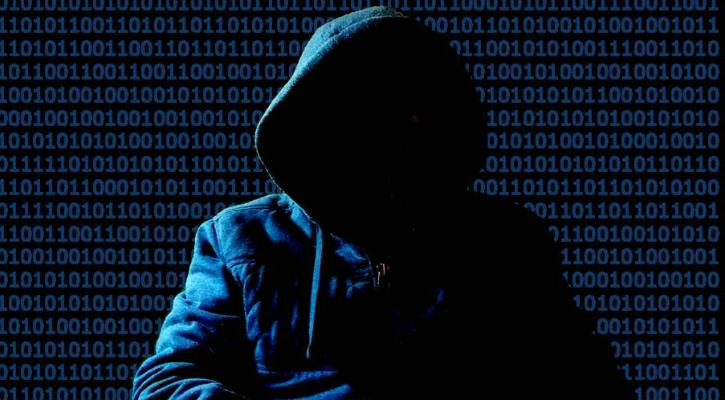 Ảnh Hacker ẩn danh giấu ămtj