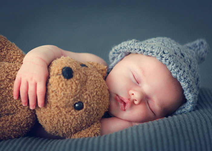 Hình ảnh em bé đang ngủ cute