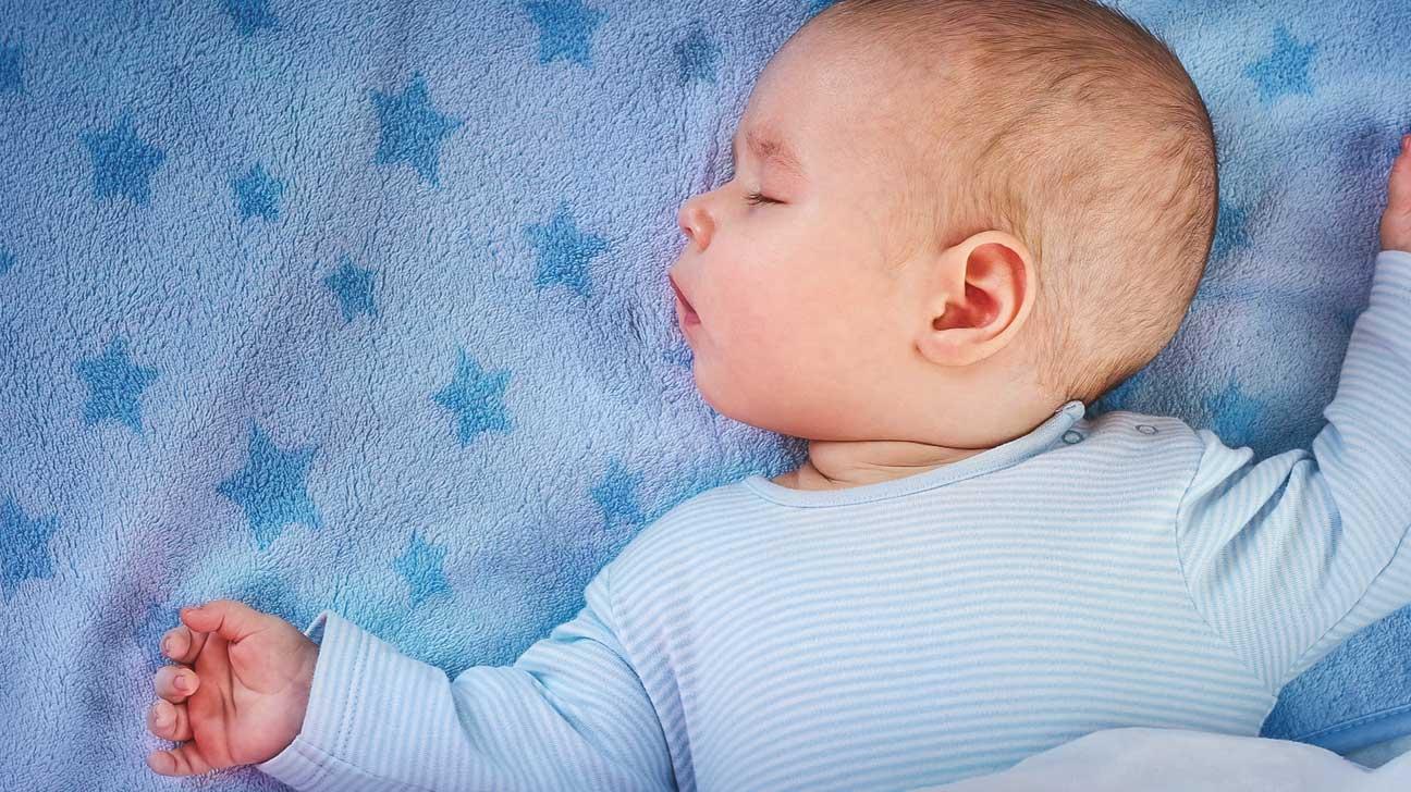 Hình ảnh em bé đang ngủ dễ thương