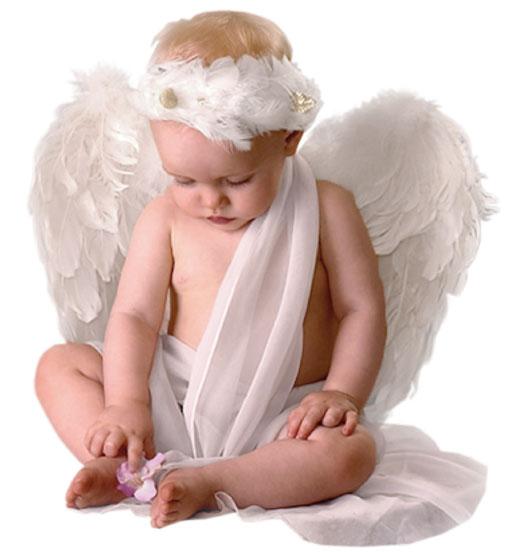 Hình ảnh em bé thiên thần đáng yêu