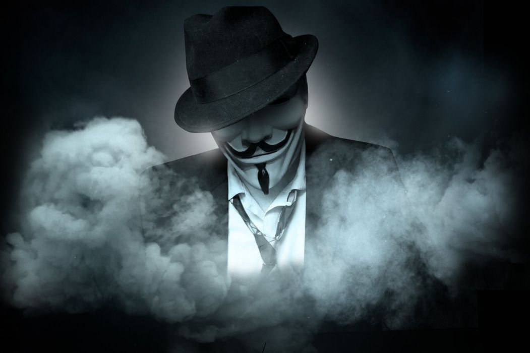 Hình ảnh Hacker Anonymous chất