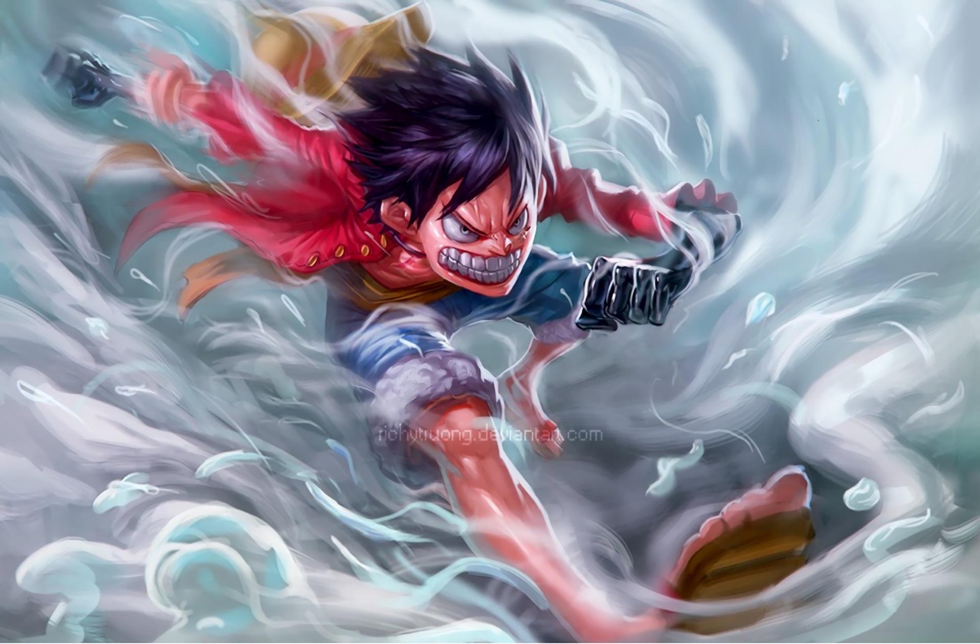 hình nền Luffy ngầu nhất