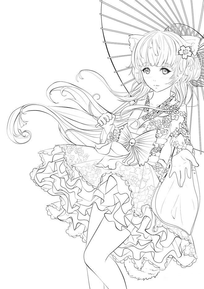 Tổng Hợp Tranh Tô Màu Anime đẹp Nhất Cho Bé